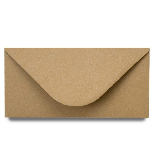 BROWN MANILA ENVELOPE DL 25 PACK