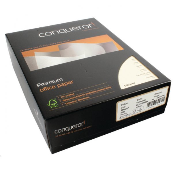 Conqueror A4 Printing Paper 100 Gsm White 500 Sheets