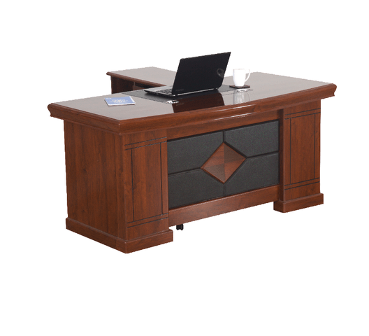 Direct Office Executive Desk DRU Red-Brown