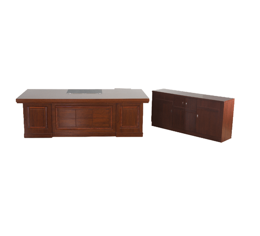 Direct Office Executive Desk Nocao Red-Brown
