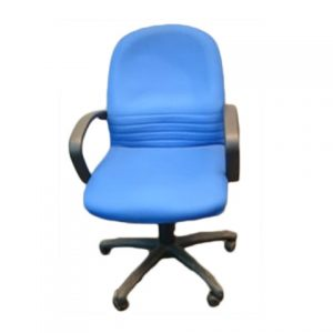 FABRIC OFFICE CHAIR MID BACK ARMS SCT-03