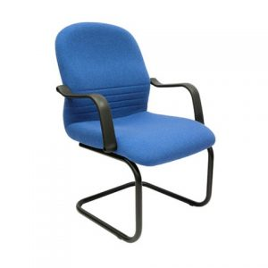 FABRIC VISITOR OFFICE CHAIR SCT-04 BLUE