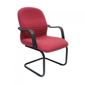 FABRIC VISITOR OFFICE CHAIR SCT-04 RED
