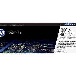 HP 201A black Original Laserjet Toner (CF401A) Cartridge