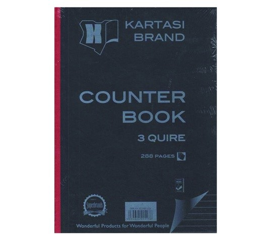 KARATASI COUNTER BOOK A4 3Q
