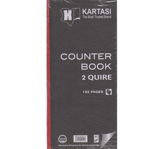 KARATASI COUNTER BOOK HALF A4 2Q