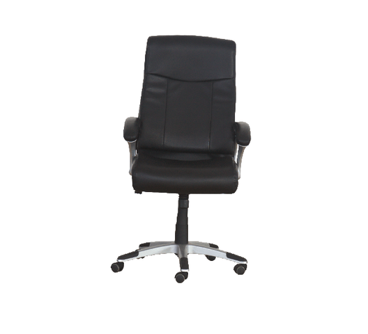 LEATHER CHAIR MID BACK ROTATED 1649-M