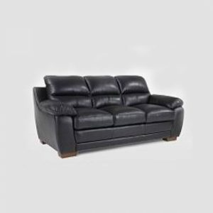 LEATHER SOFA 3-SEATER XL-9905