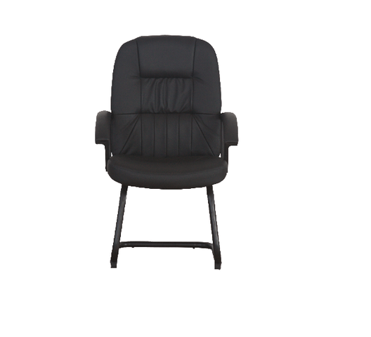 LEATHER VISITOR CHAIR 8210V