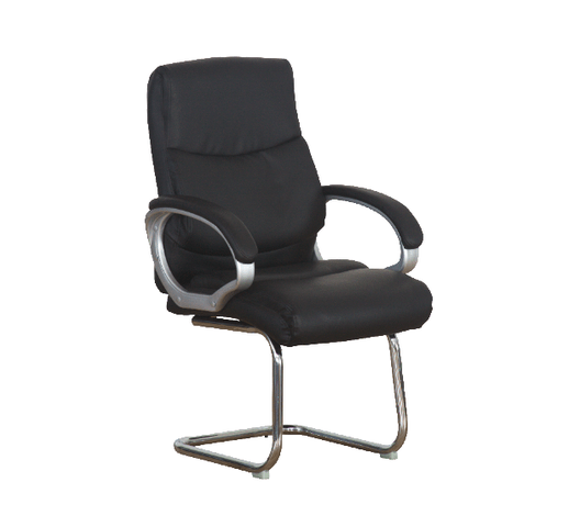 LEATHER VISITOR CHAIR1803V