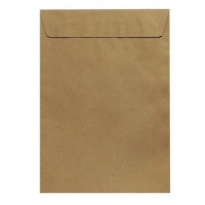 BROWN MANILA ENVELOPE A4 25 PACK