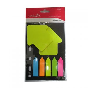 OFFICE POINT STICKY NOTE FLUORESCENT SN54