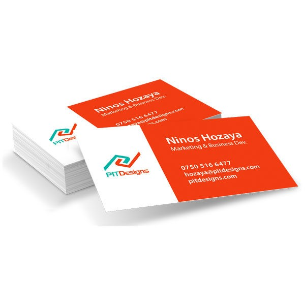 Single Sided Business Cards – 200 Pack